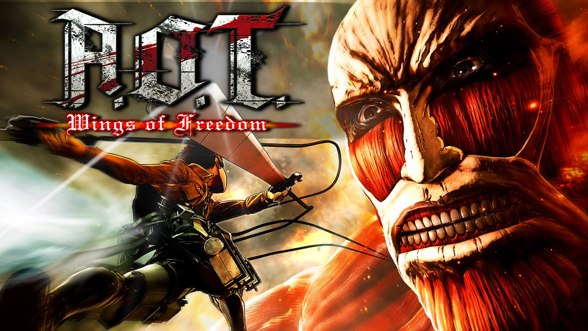 Attack On Titan Wings Of Freedom Full Version Pc All Dlc Miltech99